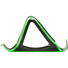 Supacaz Fly Cage Carbon Bottle Holder neon green